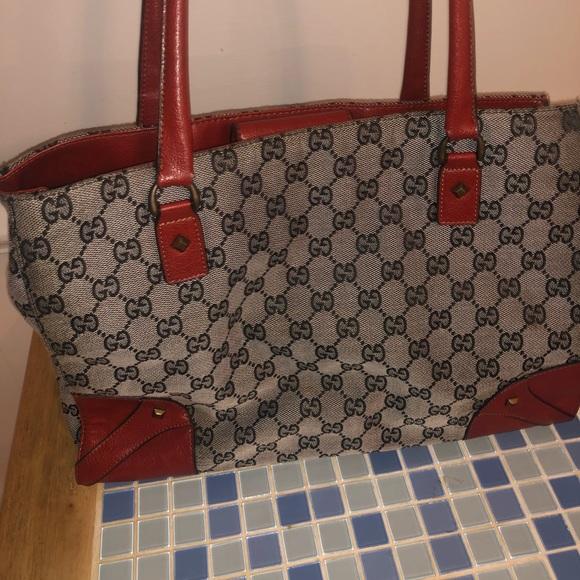 Gucci Handbags - Vintage Gucci Handbag Tote